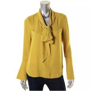 Rachel Roy Bell Sleeve Blouse Top
